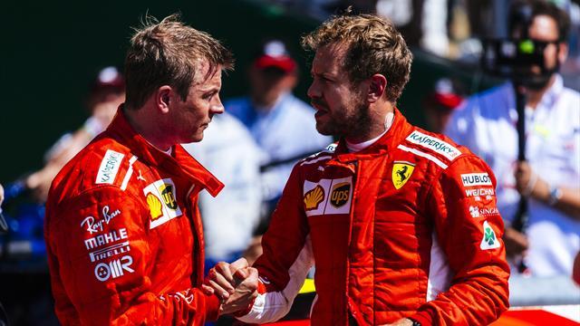 """Vettel : """"J'aurais du mal à être aussi précis pour éliminer quelqu'un"""""""