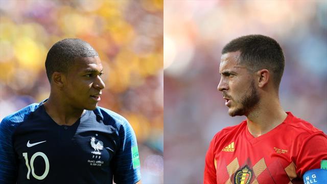 France ou Belgique : qui a la meilleure triplette offensive ?