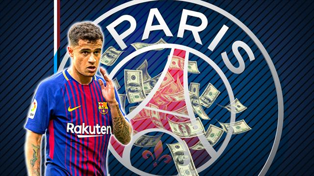Euro Papers: PSG stun Barca with €270m Coutinho offer