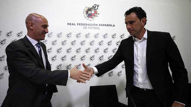 """Molina: """"Nuestro compromiso con Luis Enrique es total y tiene todo nuestro apoyo"""""""
