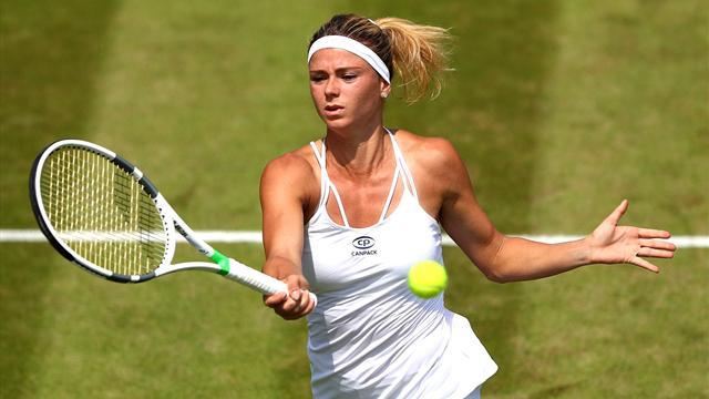 Camila Giorgi è ai quarti di finale di Wimbledon: Makarova ko