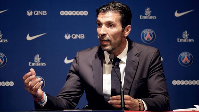 Buffon : «Une très agréable suprise de me retrouver au PSG»