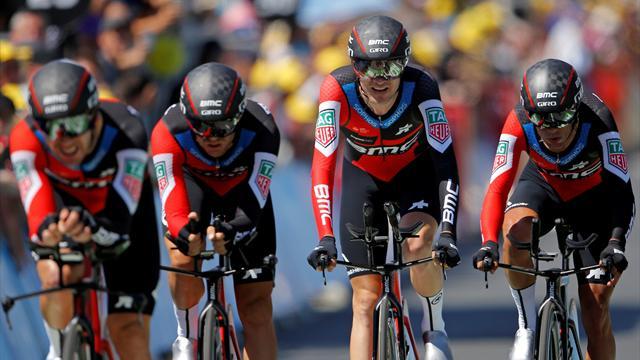 Tour de Francia2018 (3ª etapa): BMC se lleva la lucha por el cronómetro y Van Avermaet, nuevo líder