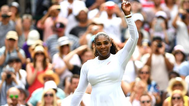 Wimbledon : Serena Williams bat Rodina et va en quarts