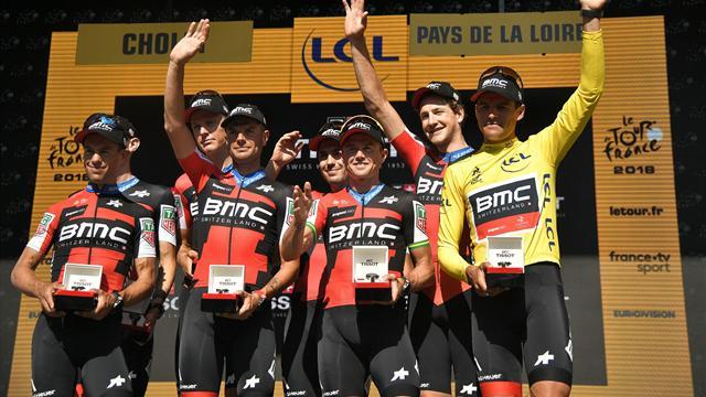 Turul Franței – Etapa 3: BMC câștigă contratimpul și îl pune pe Van Avermaet în galben