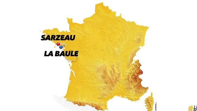 Tour de Francia 2018: Así es la 4ª etapa, una nueva jornada para el esprint