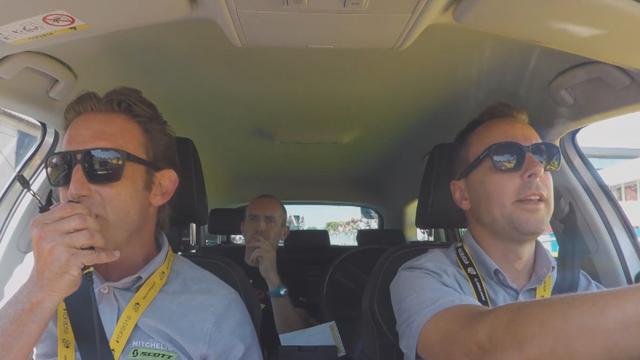 Tour de Francia 2018: Lo mejor de la cámara 'on board' de la emocionante crono por equipos