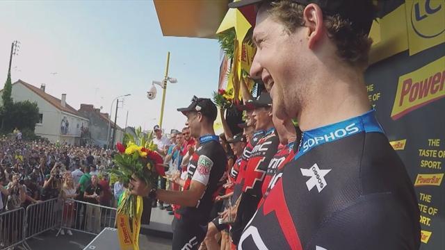 Onboard auf dem Tour-Podium: BMC nimmt Euch mit!