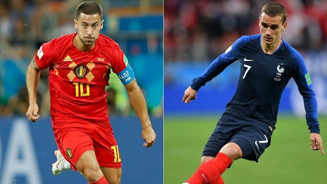 Nos pronos pour France - Belgique : La rédaction est (très) partagée