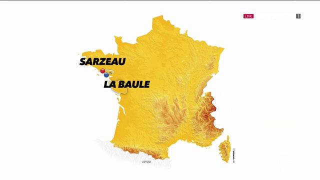Så körs tisdagens etapp av Tour de France
