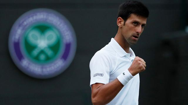 Djokovic into Wimbledon semis like a man on a mission