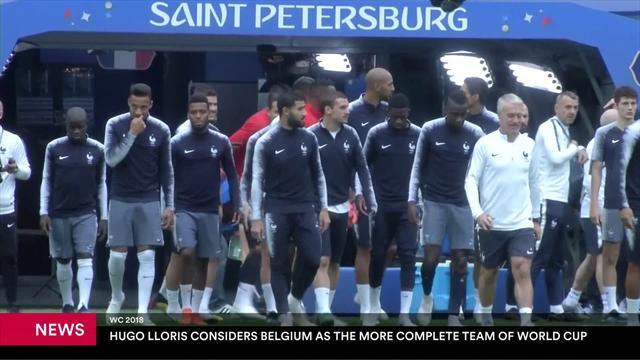 """Lloris: """"Il Belgio ha tutto ciò che serve per essere una grande squadra"""""""