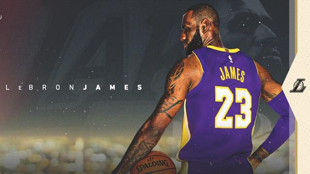 LeBron officially signs contract with Lakers