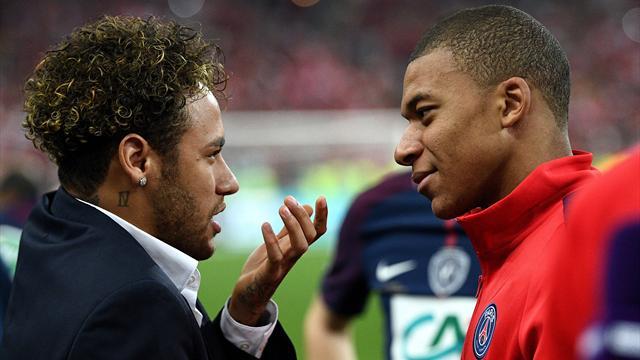 El elegante mensaje de Neymar a Rakitic y Mbappé por una final que no jugará