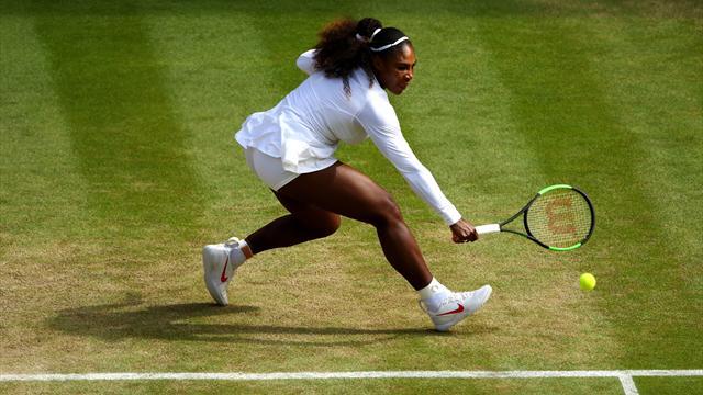 Wimbledon 2018 (Semifinales), Julia Görges-Serena Williams: La reina quiere su trono (2-6 y 4-6)