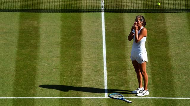 Ostapenko, Cibulkova, Giorgi et Bertens en quarts à Wimbledon