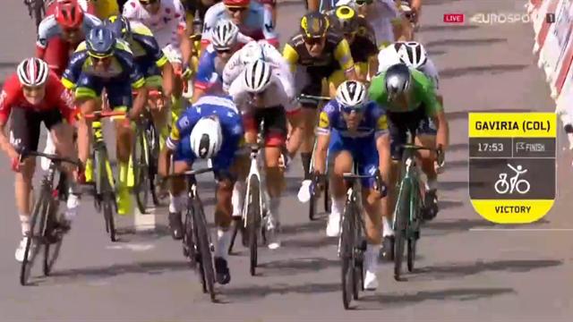 Höjdpunkter: Så var etapp fyra i Tour de France