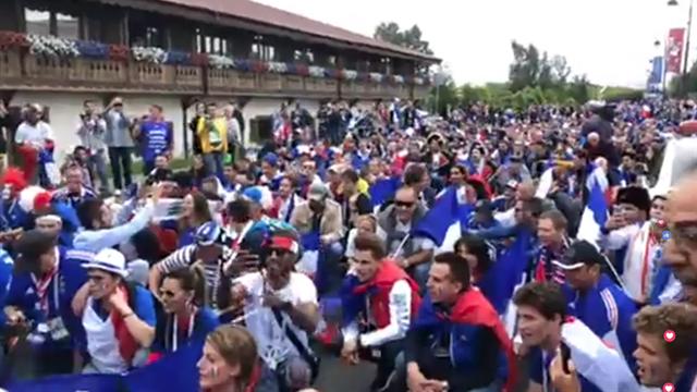 Marseillaise, Gérard Depardieu, chanson de Pavard : les supporters français ont mis le feu
