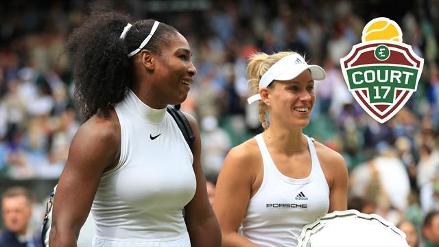 """""""Kerber sera la menace numéro un de Serena à Londres"""""""