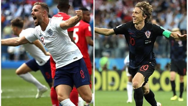 Mundial Rusia 2018: La previa en 60 segundos del Inglaterra-Croacia