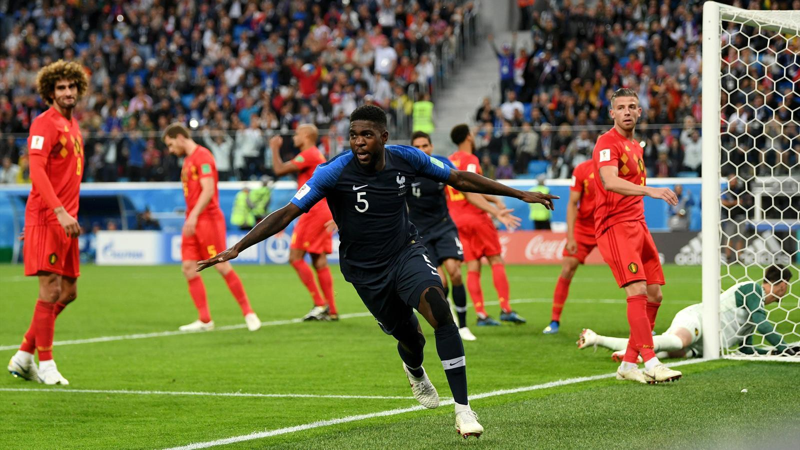 Coupe du monde plus de 19 millions de t l spectateurs sur tf1 pour france belgique coupe du - Coupe de france football calendrier ...