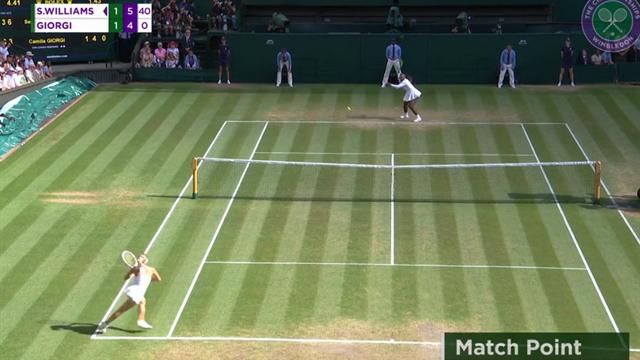 Höjdpunkter: Serena Williams klar för semifinal