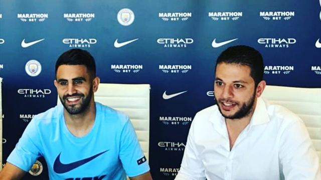 Manchester City complete £60m signing of Mahrez