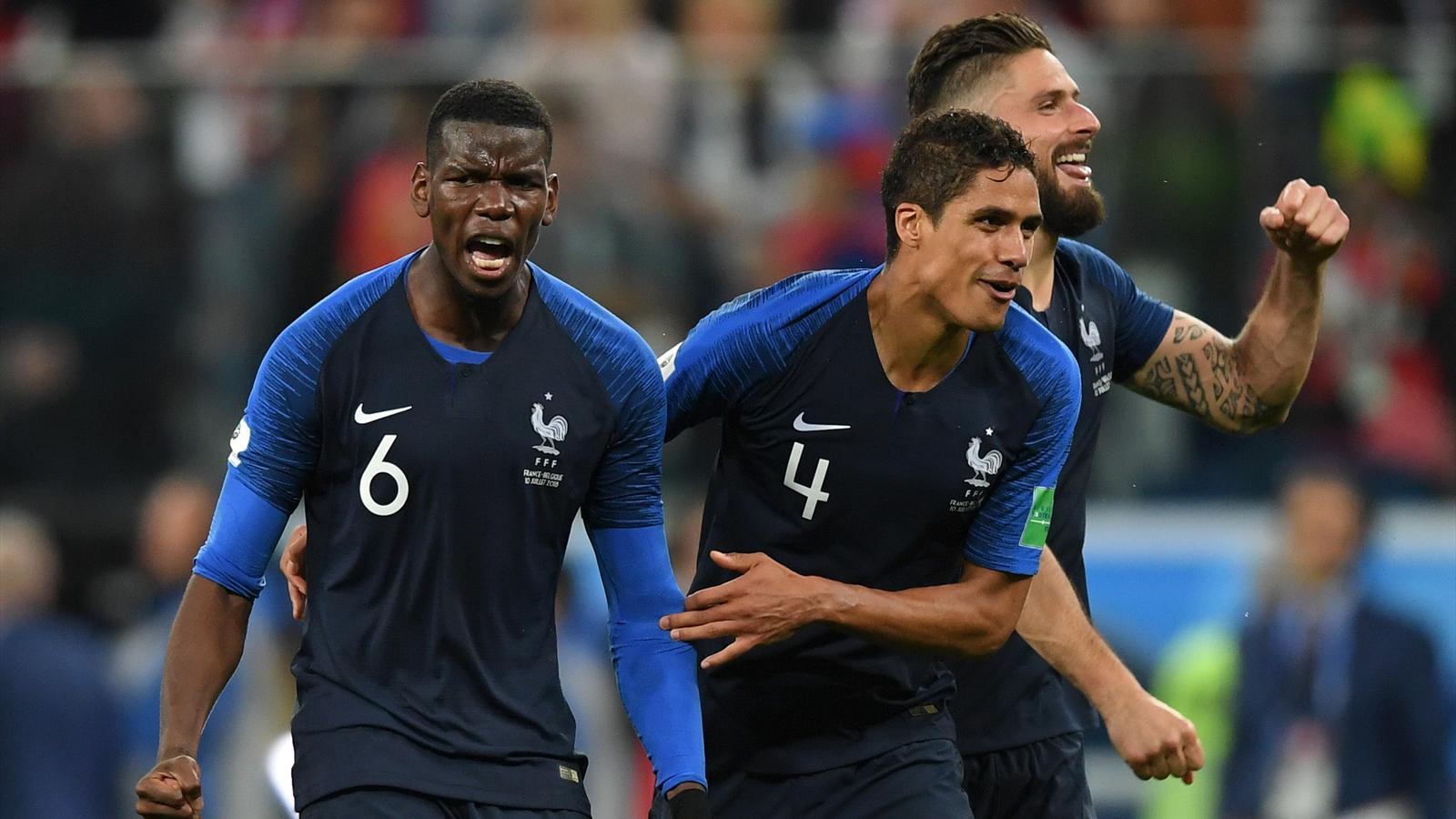 L 39 antis che de france belgique ces bleus ont tout pour eux coupe du monde 2018 football - Classement buteur coupe de france ...