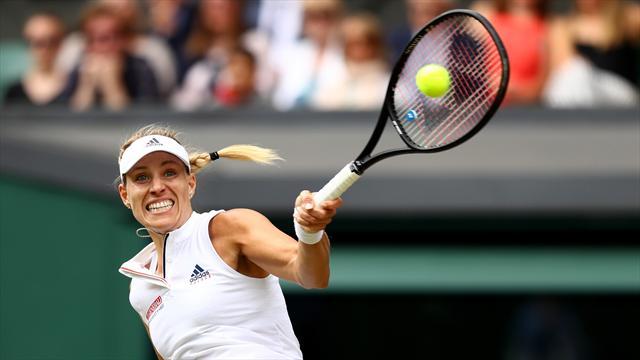 Kerber und Görges im Halbfinale: Die Highlights aus Wimbledon