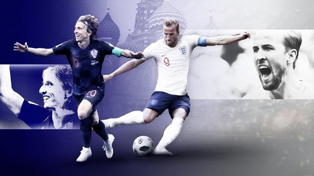 Croatie-Angleterre: place aux prolongations (1-1, DIRECT)