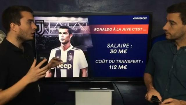 Ronaldo à la Juve : revivez notre direct consacré au transfert du Portugais