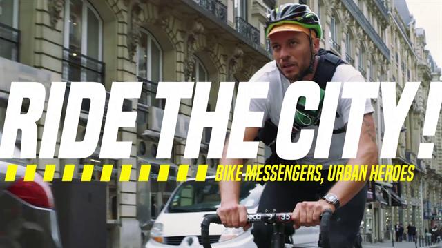 Ride the city: i corrieri e le loro bici, i nuovi eroi di Parigi