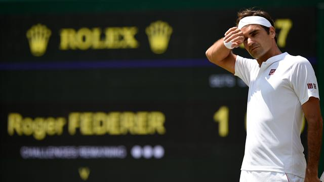 Federer falls to Anderson in marathon five-set epic