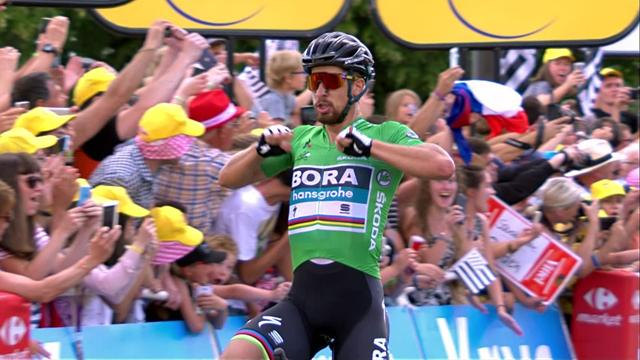 Peter Sagan secures Stage 5 win in style