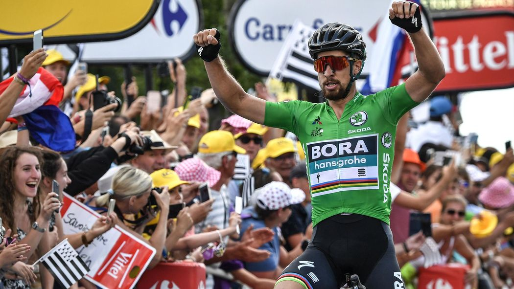 Tour de France 2018  Peter Sagan on song in Stage 5 to tighten grip on green  - Tour de France 2018 - Cycling - Eurosport UK 27c923c23