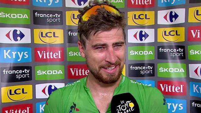 "Tour de Francia2018, Peter Sagan: ""He tenido un poco de suerte, Colbrelli venía muy cerca"""