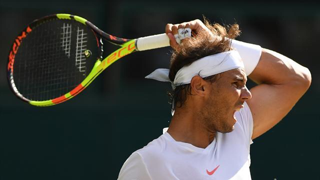 Waanzinnig! Wat een geweldige rally van Nadal en Del Potro