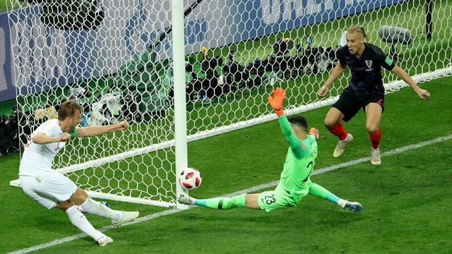 L'incroyable occasion manquée de Kane à quelques centimètres de la ligne