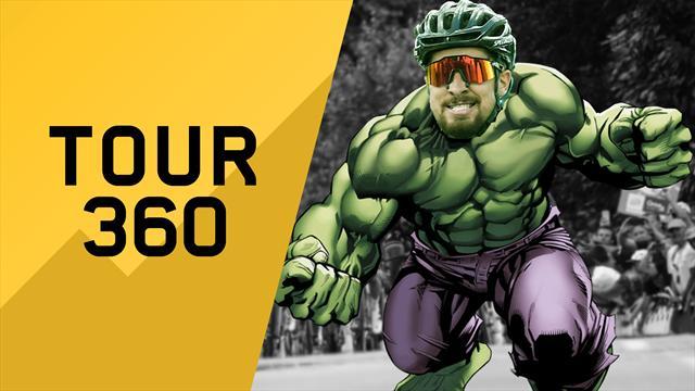 """""""Tour 360"""": Sagan-Hulk per la decima. Tutto il meglio e il dietro le quinte della 5a tappa"""