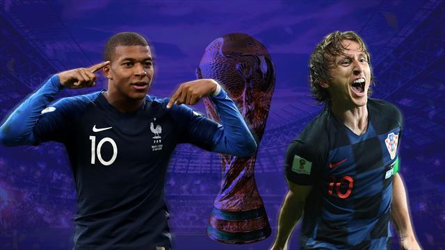Francia o Croacia, dos estilos que marcarán el rumbo del fútbol los próximos cuatro años