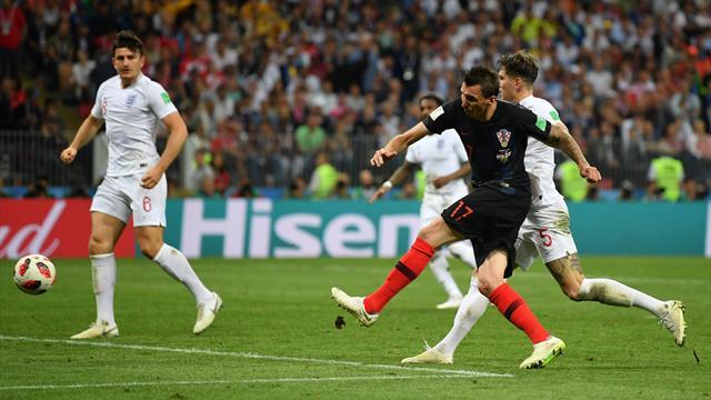 Mandzukic a profité d'une erreur de marquage pour envoyer la Croatie en finale