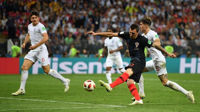 It's NOT coming home! Mandzukic schießt Kroatien ins WM-Finale