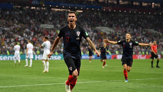 Hırvatistan, finalde Fransa'nın rakibi oldu