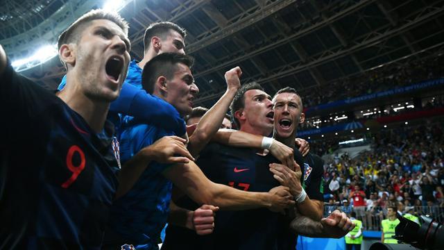 Mandzukic segna, l'Inghilterra prova a pareggiare senza Croazia in campo: che figura!
