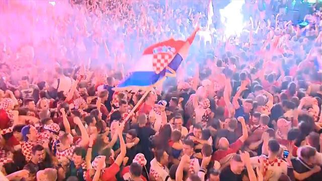 Zagreb im Ausnahmezustand: Kroatische Fans eskalieren völlig