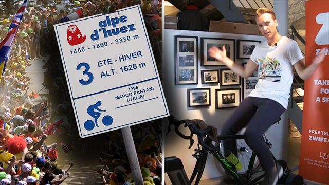 Café Tour: Alpe d'Huez-Challenge & Bike-Porn mit Van Avermaet