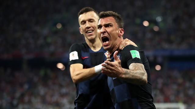 Horvátország drámai mérkőzésen, a hosszabbításban gyűrte le Angliát