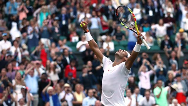 Hoogtepunten - Rafael Nadal- Juan Martin Del Potro