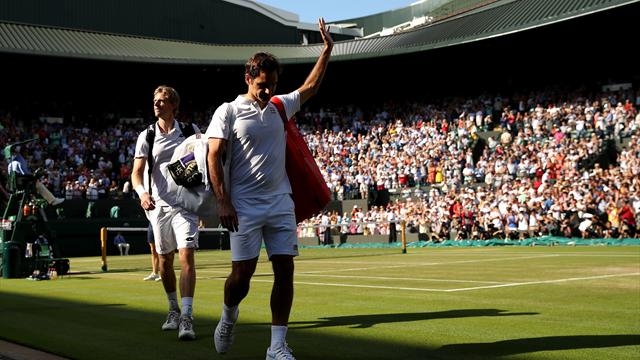 Hoogtepunten Roger Federer - Kevin Anderson