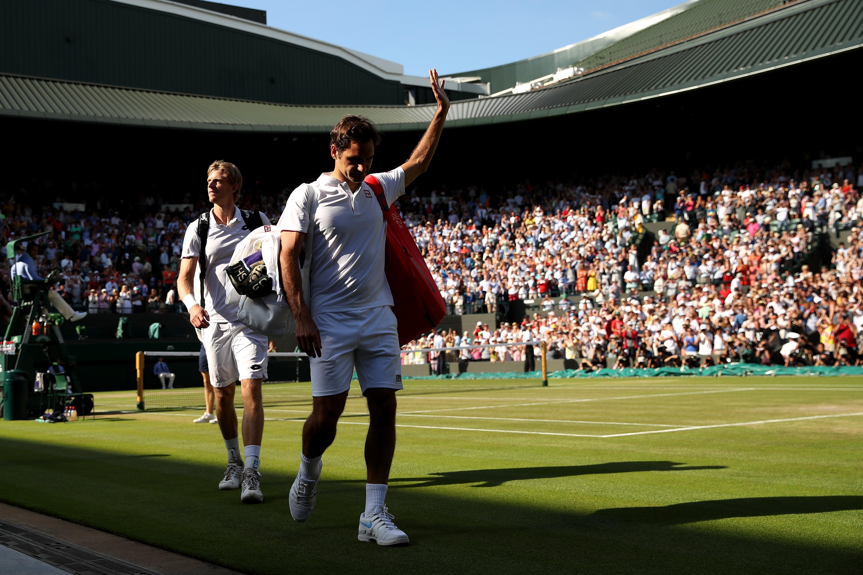 Roger Federer et Kevin Anderson